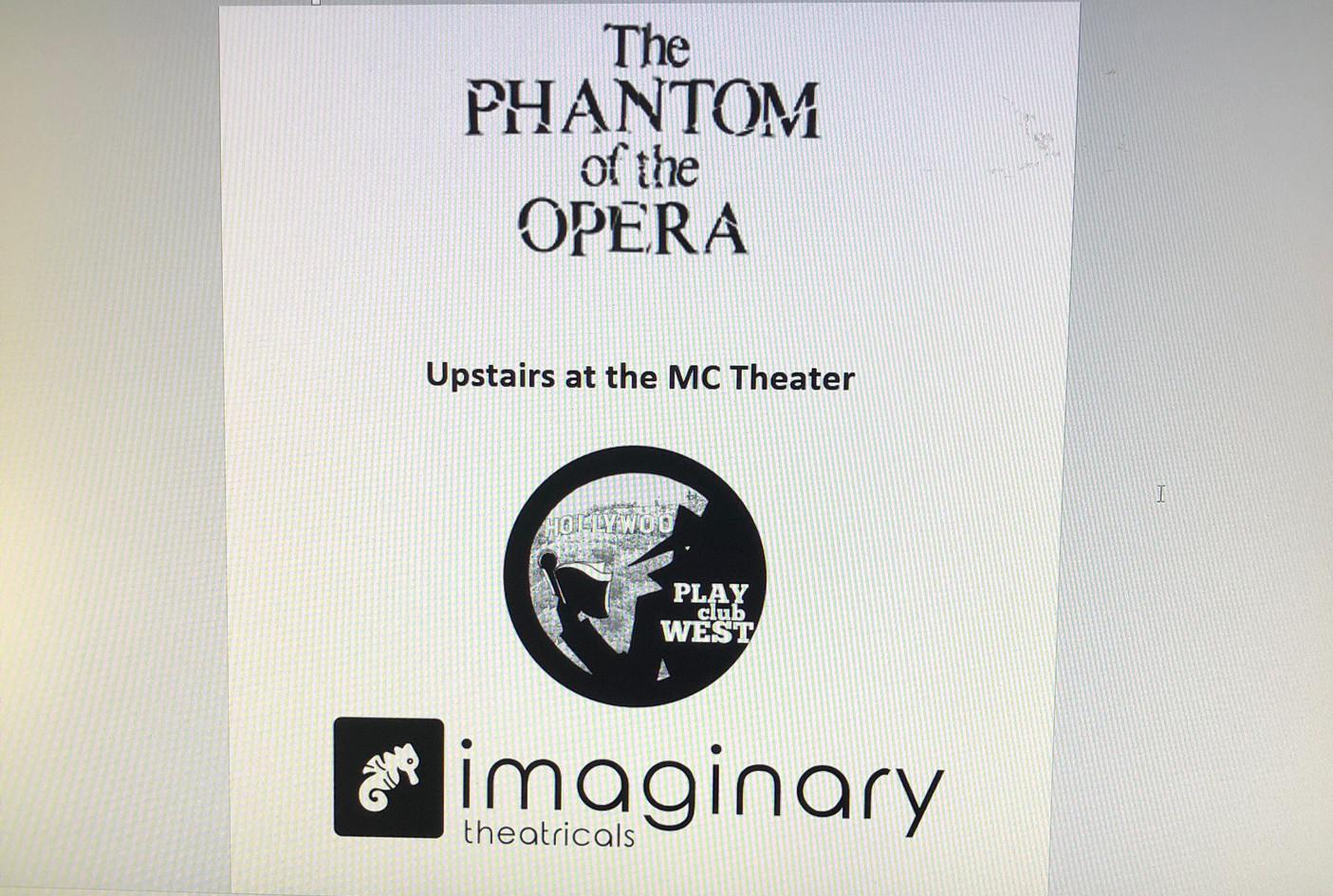 Phantom of the Opera Playdate