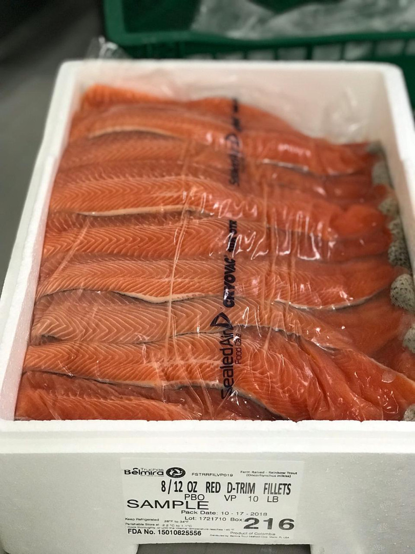 Red PBO D-Trim Fillets