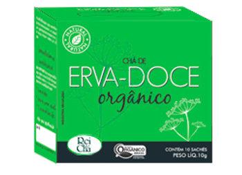 CHÁ ERVA-DOCE 10 SACHÊS - 10 GR -