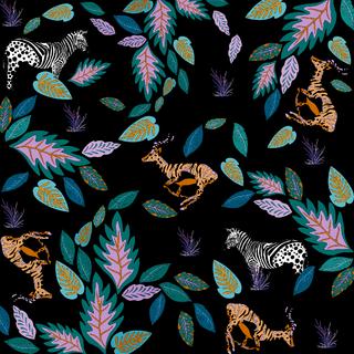 Jungle trip pattern