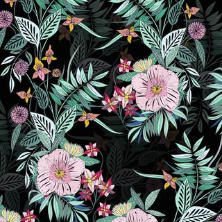 Secret garden pattern