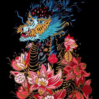 Dragon Flower Power