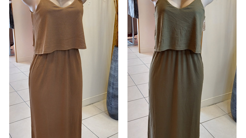 Olive Green Lily Dress