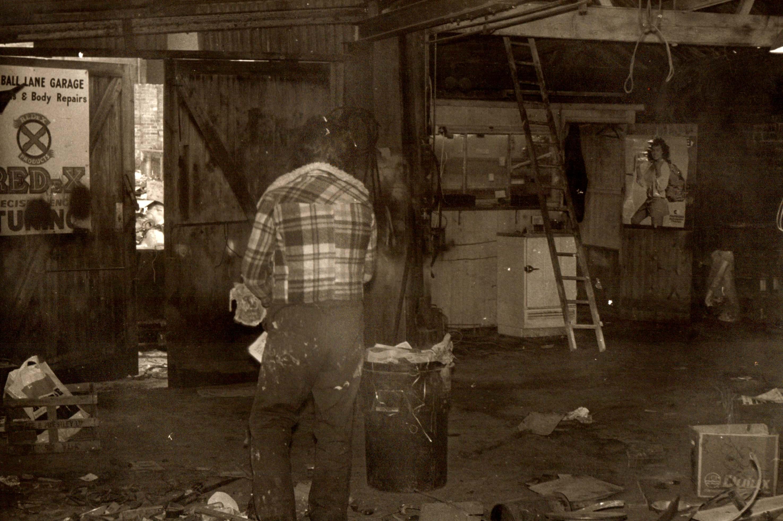 Blue Ball Lane Garage 1950s