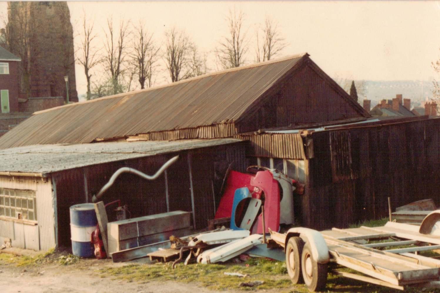 Blue Ball Lane Garage 1970s
