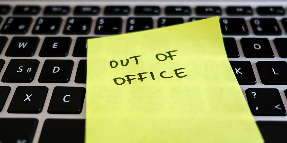 Out of Office Dates