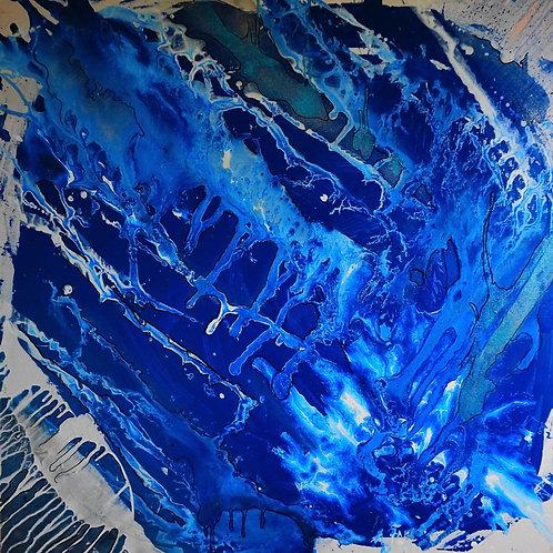 'BLUE'