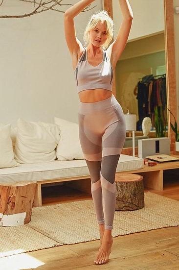 "Mauve ""Get Fit"" Bra and Legging Active Set"