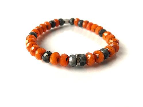 Meditation | Shades of Orange Glass