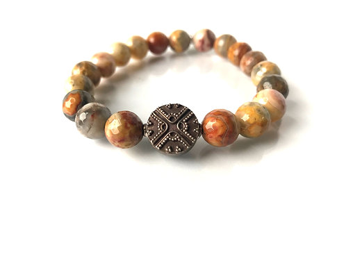 Strength | Shades of Mix Agate