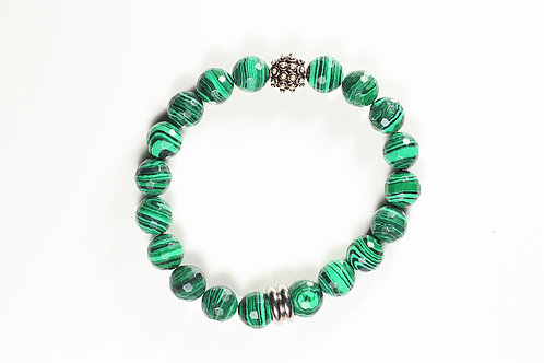 Energetic Collection Malachite & Spike Ball