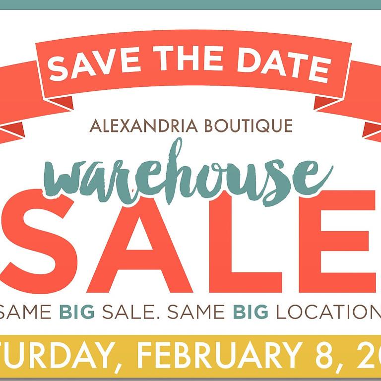 Alexandria Boutique Warehouse Event