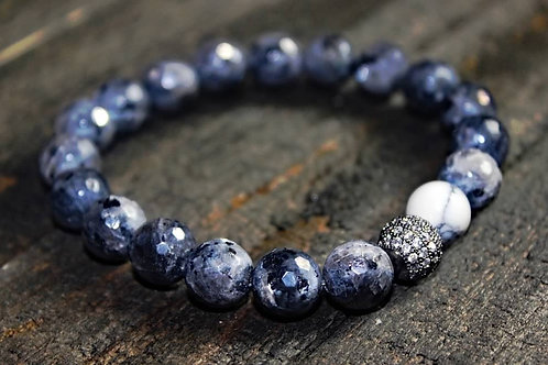 Strength Collection Grey Agate/Pave