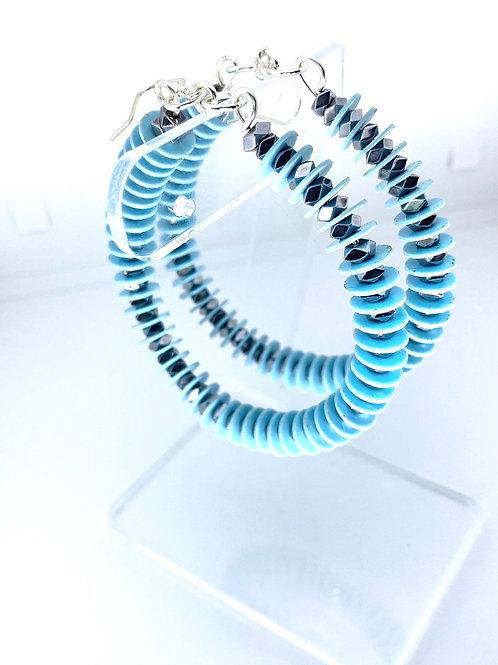 Friendship Blue|Silver twist