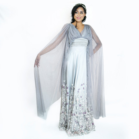 Love Her Wild Cape Maxi Dress