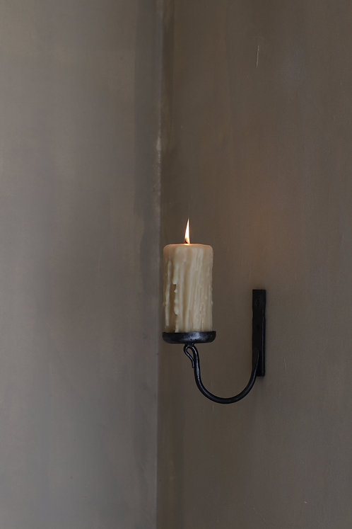 Dripped Israeli Beeswax Candle |  (15.5 X 7.5) נר דונג אורגני דריפד