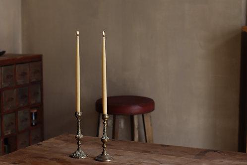 Beeswax Dinner Candles  |  נרות דונג אורגני