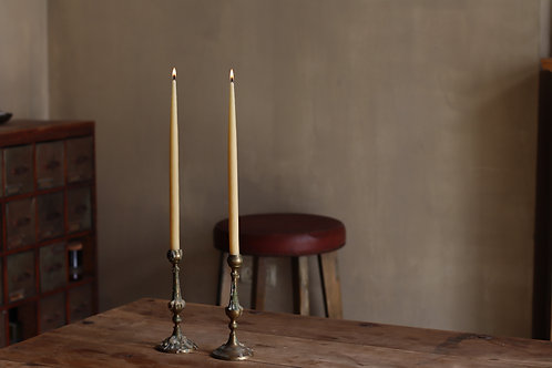 LONG DINNER ORGANIC ISRAELI BEESWAX CANDLES