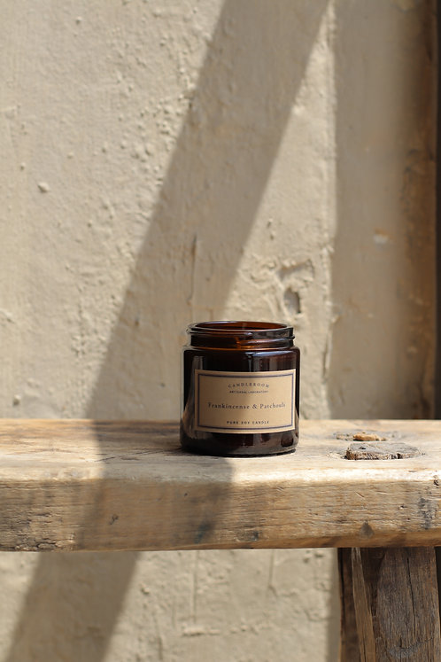 FRANKINCENSE + PATCHOULI MINI CANDLE