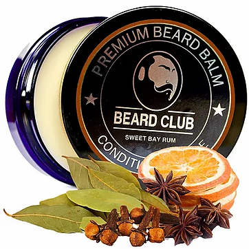 Sweet Bay Rum Beard Balm - 1.webp
