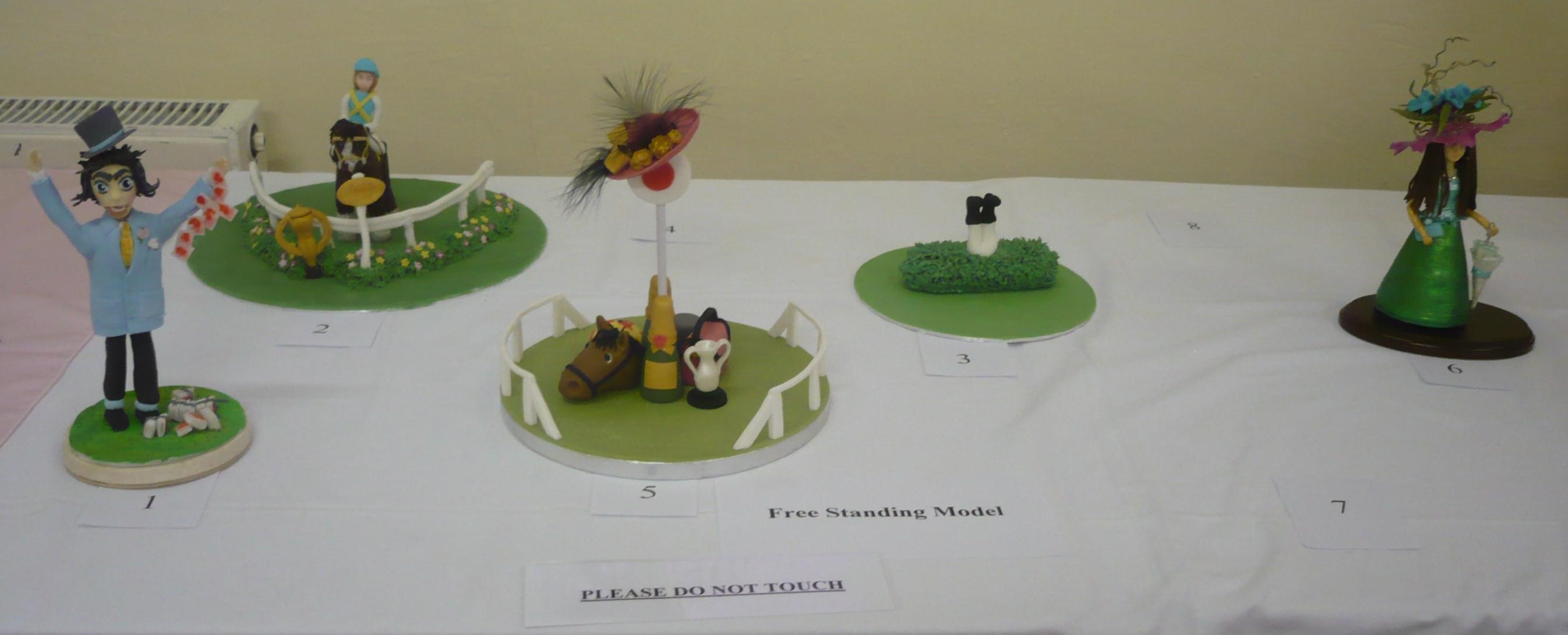 Our freestanding Model entries.JPG