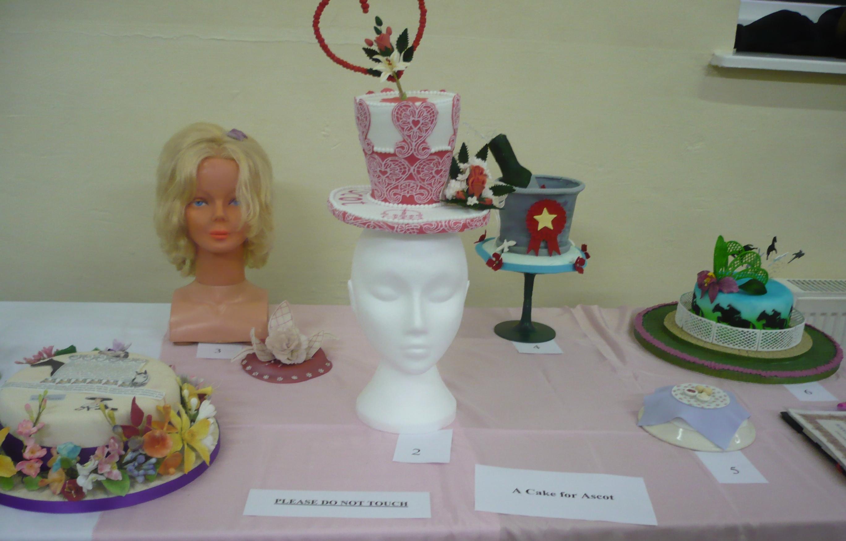 Our  Royal Ascot Hats.JPG