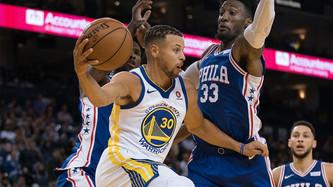 Golden State Warriors vs Philadelphia 76'ers (5:30pm)