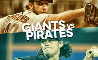 San Francisco Giants vs Pittsburgh Pirates (4:10pm)