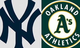 New York Yankees vs Oakland Athletics (1:10pm)