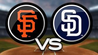 San Francisco Giants vs San Diego Padres (1:40pm)