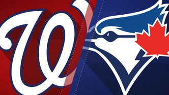 Washington Nationals vs Toronto Blue Jays (3:05pm)