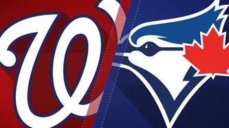 Washington Nationals vs Toronto Blue Jays (3:05pm)
