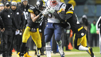 New England Patriots vs Pittsburgh Steelers (1:25pm)