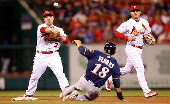 St. Louis Cardinals vs Milwaukee Brewers (10:10am)
