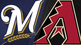 Arizona Diamondbacks vs Milwaukee Brewers