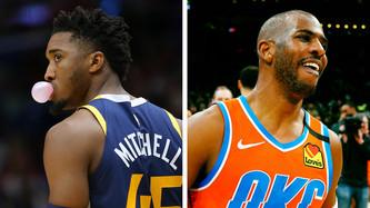 Utah Jazz vs Oklahoma City Thunder (12:30pm)