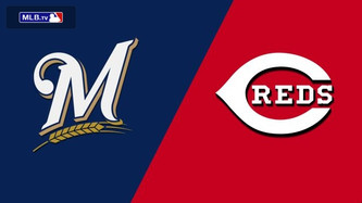 Milwaukee Brewers vs Cincinnati Reds (3:40pm)