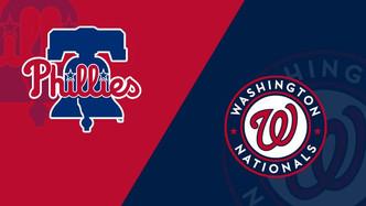 Philadelphia Phillies vs Washington Nationals (10:05am)