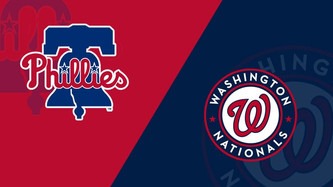 Philadelphia Phillies vs Washington Nationals (10:05am)