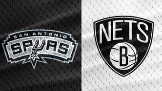 San Antonio Spurs vs Brooklyn Nets (4:35pm)