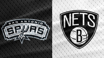 San Antonio Spurs vs Brooklyn Nets (4:35pm)