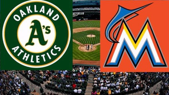 Oakland Athletics vs Miami Marlins (9:35am)