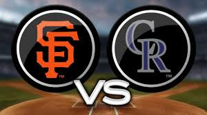 San Francisco Giants vs Colorado Rockies (12:10pm)