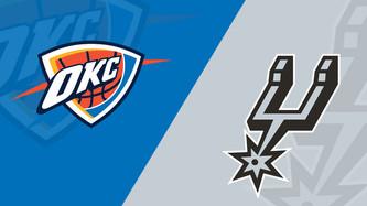 Oklahoma City Thunder vs San Antonio Spurs (6:35pm)