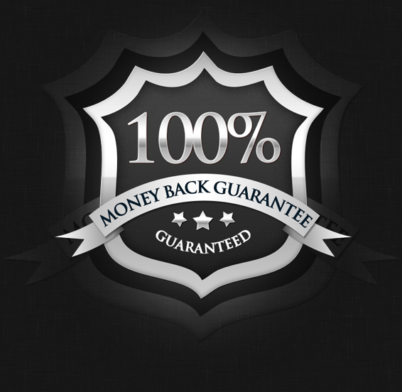 100% Money Back Guaranteed!