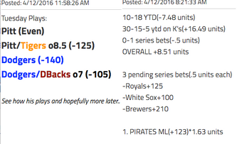 Pittsburgh Pirates vs Detroit Tigers (10:05am PST)