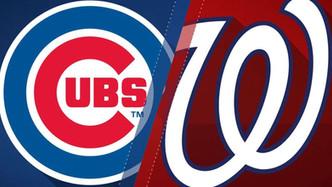 Chicago Cubs vs Washington Nationals (4:05pm)