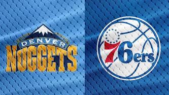 Denver Nuggets vs Philadelphia 76'ers (5:00pm)