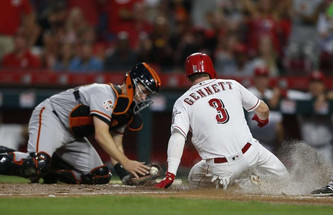 San Francisco Giants vs Cincinnati Reds (10:10am)