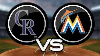 Colorado Rockies vs Miami Marlins (4:10pm)